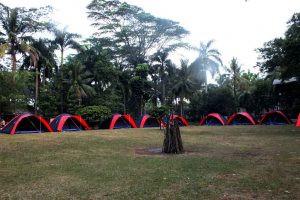 lapangan area camping Citra Alam Lakeside