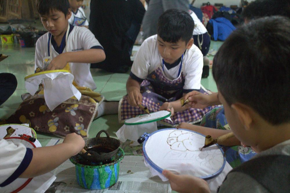 pelatihan seni dan budaya di citra alam