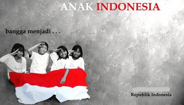slogan bangga menjadi anak indonesia