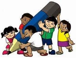 ilustrasi kerjasama anak