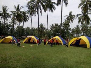 kegiatan camping citra alam seaside