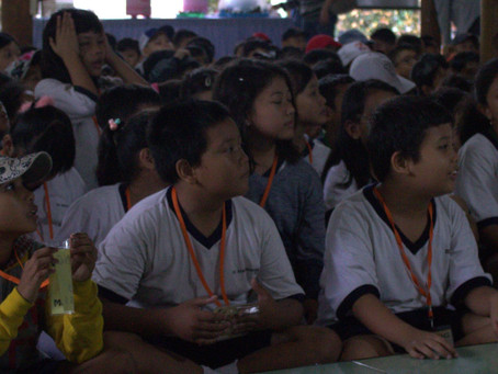 Keceriaan SD Santo Markus I & II Dalam Kegiatan Mendongeng