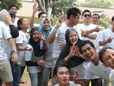 Keseruan Outbound Karyawan PT Digital Micro Indonesia
