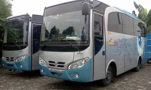 bus antar jemput family gathering