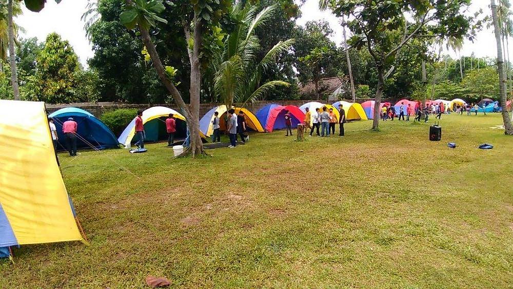 camping ground luas Seaside
