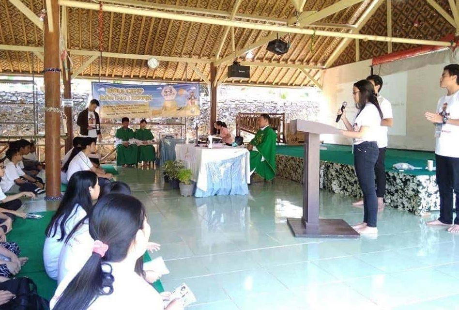 kegiatan kebaktian di Citra Alam Seaside