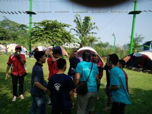 team building Citra Alam Riverside