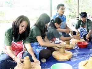 Pelatihan Keramik untuk umum & komunitas di Citra Alam