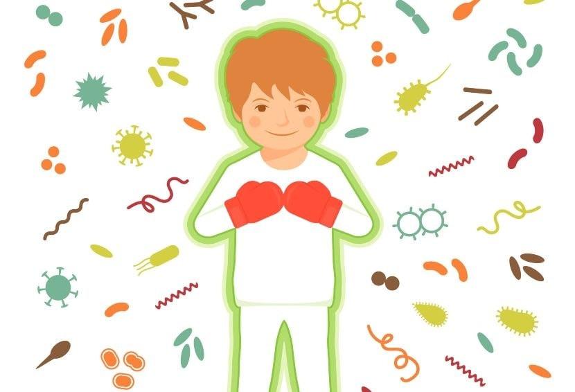 tubuh manusia perlu imun untuk menangkal berbagai virus