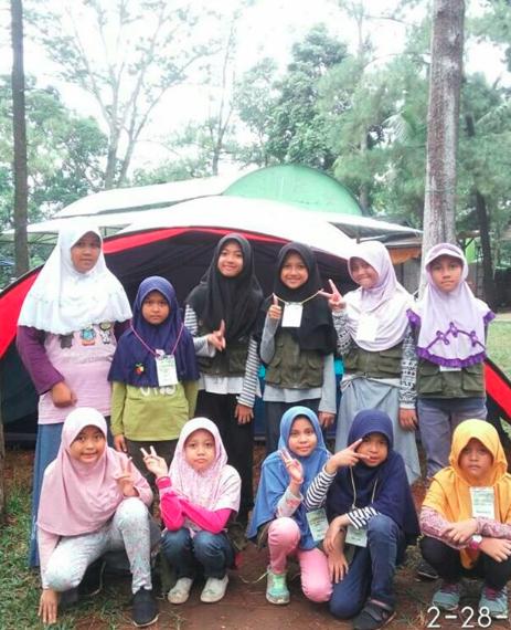 camping mengisi liburan