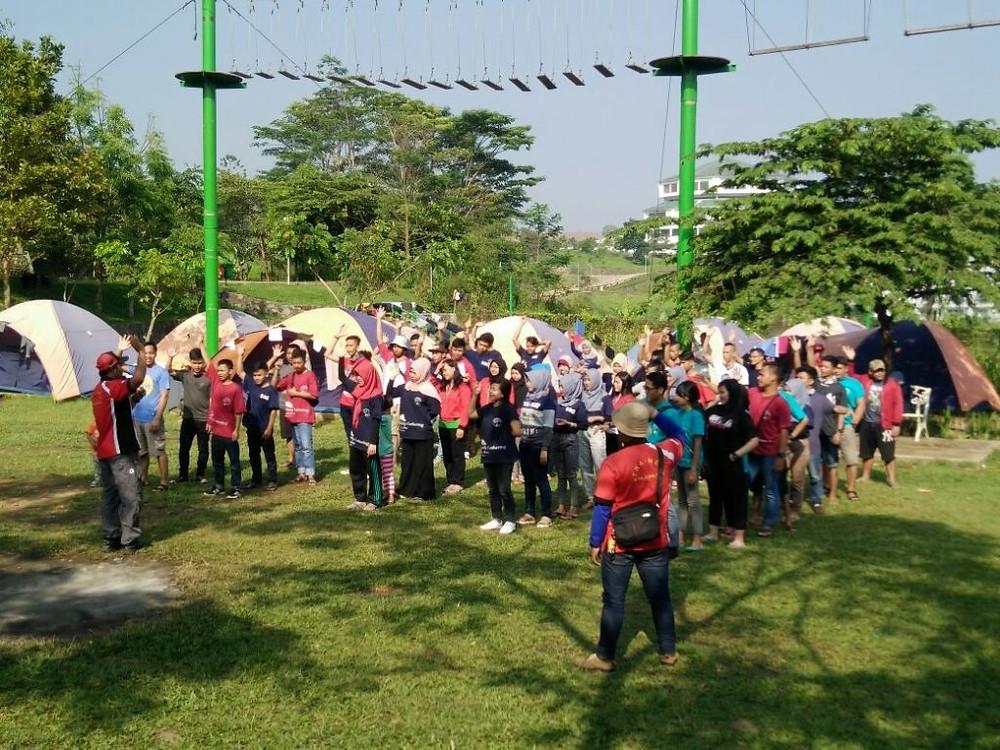 camping gathering karyawan bakso jawir