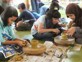 pelatihan keramik untuk sekolah dan umum