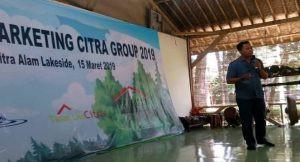sambutan Direktur SDM Citra Group