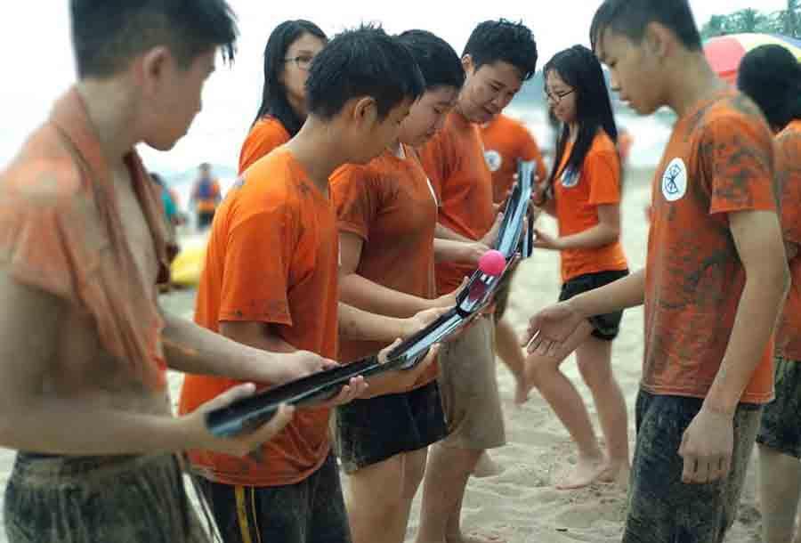 games team building di seaside