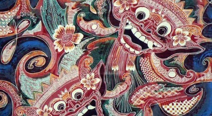 motif batik bali