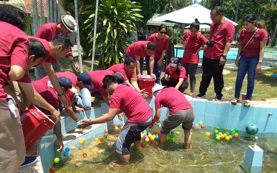 games team building seru citra alam seaside