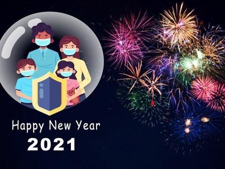 Tips Rayakan Tahun Baru Saat Pandemi