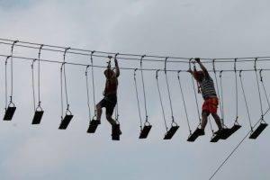 permainan highrope citra alam riverside