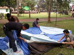pemasangan tenda dome citra alam seaside