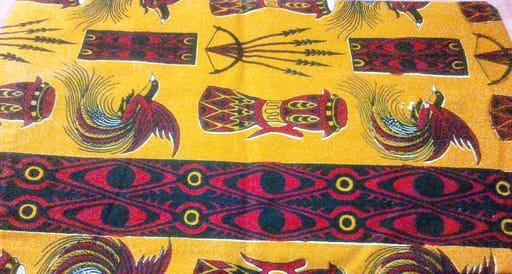 batik papua motif alat musik