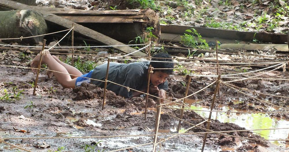 permainan merayap diatas lumpur Citra Alam Seaside