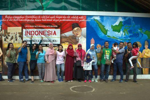 gambaran keberagaman indonesia dalam lukisan