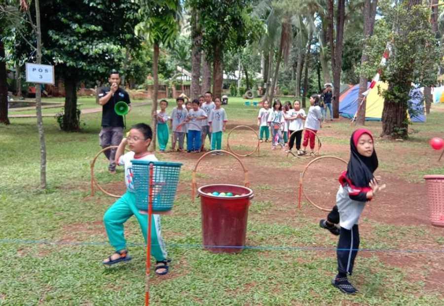 outbound anak yang melatih kerjasama