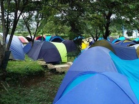 Camping Dengan Peserta Terbanyak Di Bogor