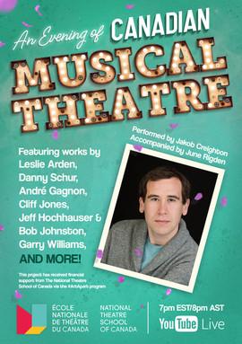 An Evening of Canadian Musical Theatre | Jakob Creighton