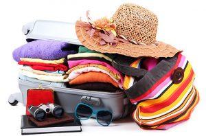 perlengkapan liburan