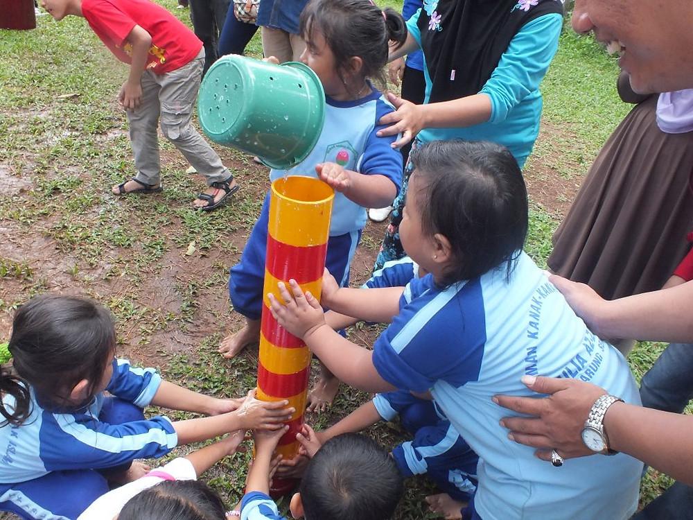 game dragon ball latih kerjasama anak