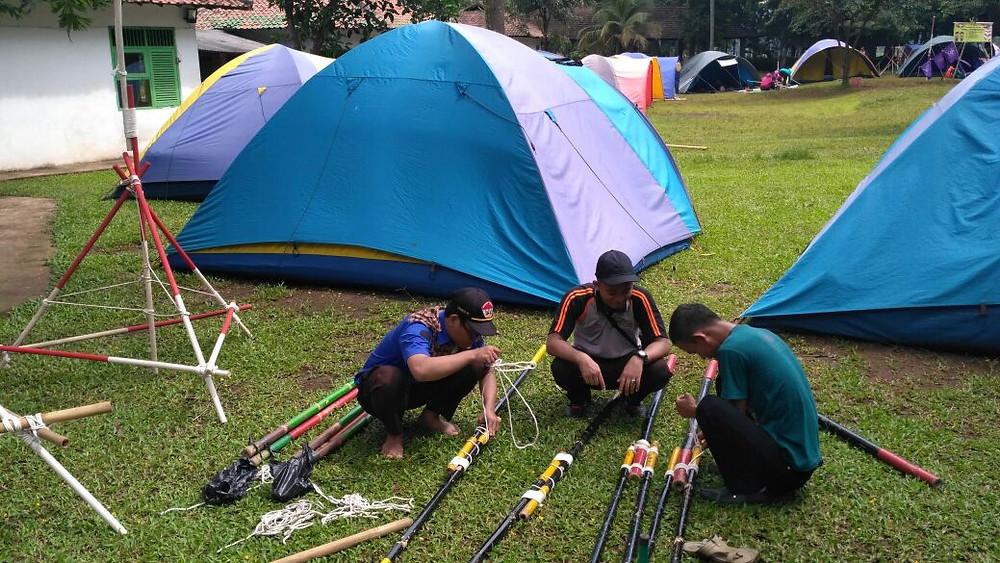 camping di citra alam lakeside