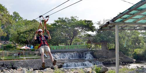 outbound flying fox citra alam riverside