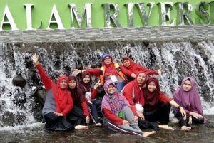 Air terjun Citra Alam Riverside Bogor