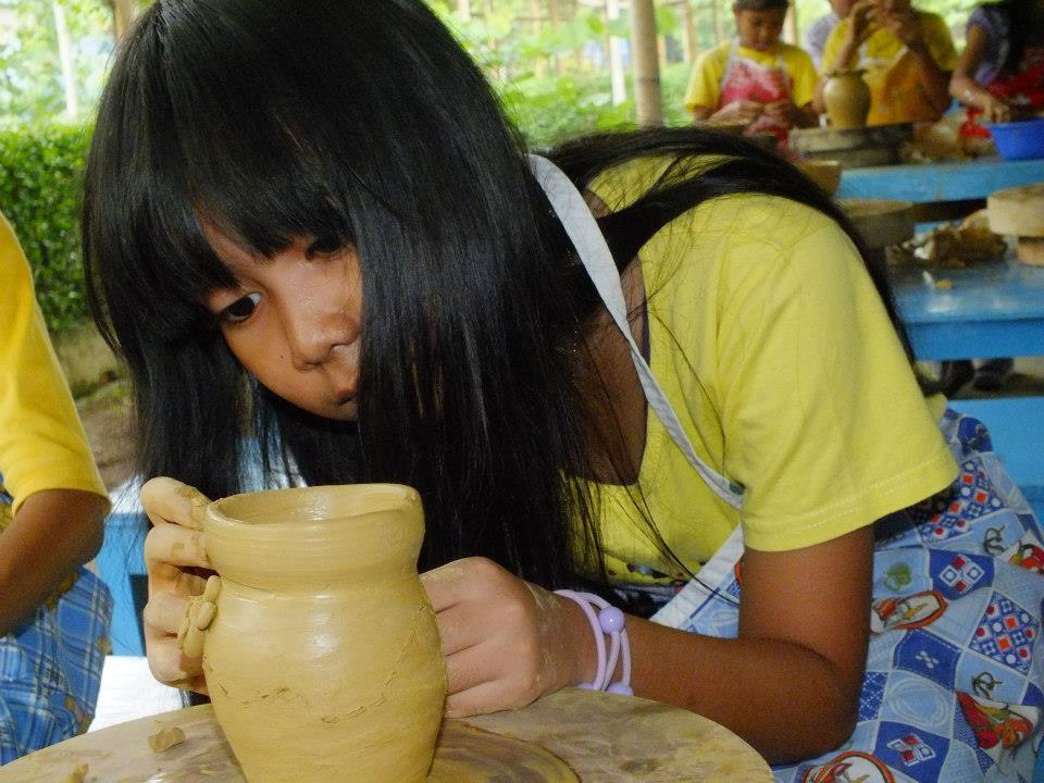 pelatihan keramik di citra alam