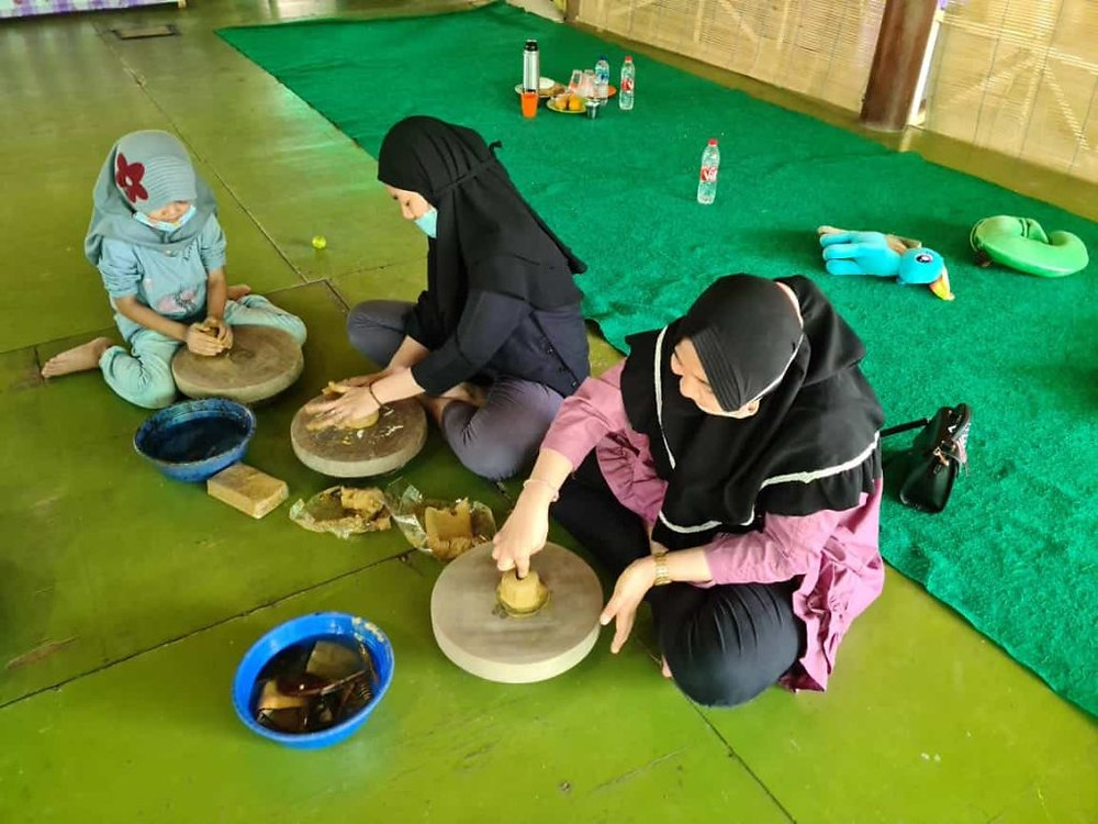 pelatihan keramik di Citra Alam Riverside