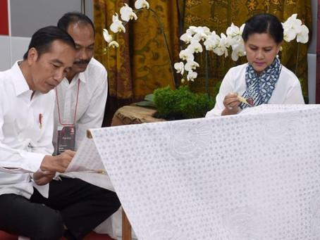 Batik Menjadi Simbol Pencanangan Bulan Kemerdekaan