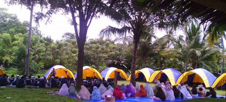 camping rohani citra alam seaside