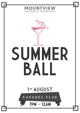 Mountview Summer Ball | Mountview Academy of Theatre Arts