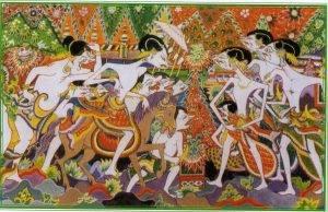kesenian wayang beber budaya Indonesia