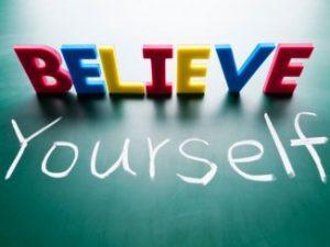 percaya pada diri sendiri