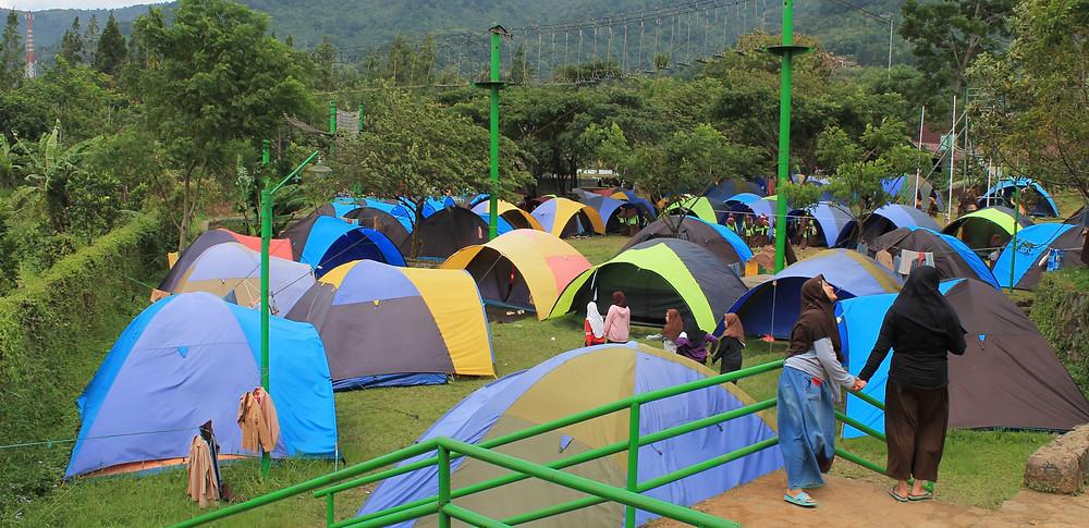 camping citra alam riverside