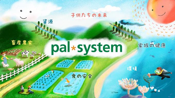 制作実績:パルシステム様 パスシステム紹介アニメーションを制作しました。