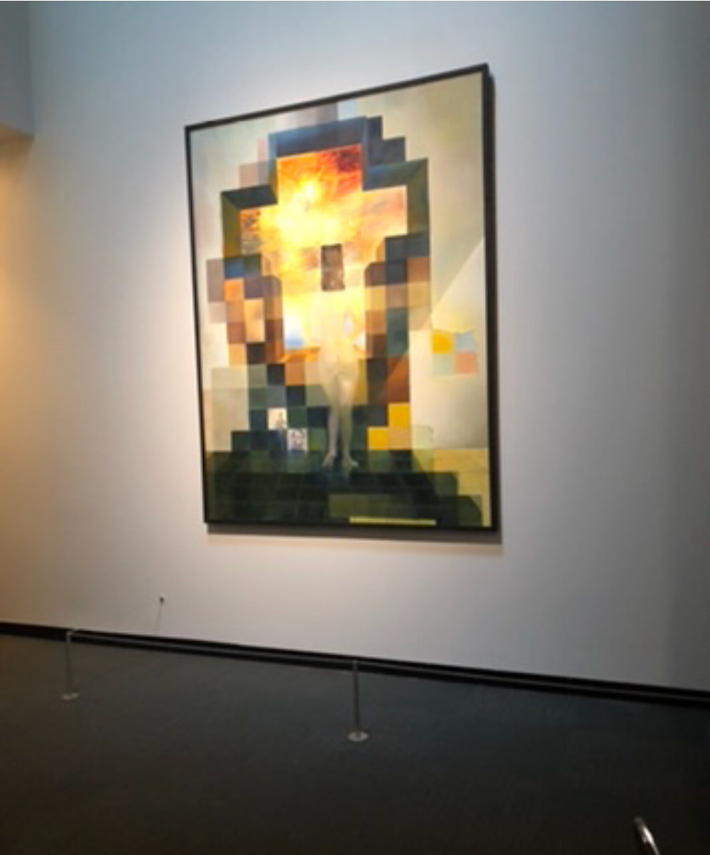 Salvador Dali's Lincoln painting in Florida