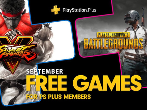 The games you'll get for free with PlayStation Plus in September