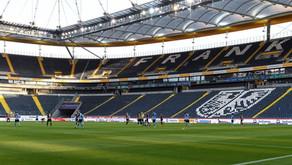 Keine Schals bei der Hymne - Beobachtungen rund um das Geisterspiel der Eintracht gegen Gladbach