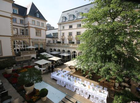 Deutscher Sportpresseball: Pressefrühstück in der Villa Kennedy