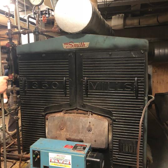 Asbestos Containing Boiler