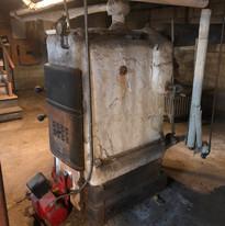 Asbestos Boiler
