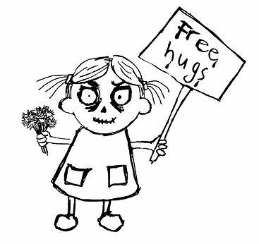CM Gray - zombiefied writer children's author illustrator zombie zombies cartoons